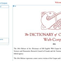 Dictionary of Old English Interface 2014